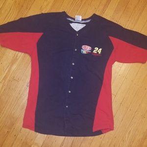Winner's Circle Shirts - Winner's Circle Jeff Gordon Dupont Raglan Shirt